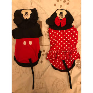 ディズニー(Disney)のペット服 ミッキーとミニー(ペット服/アクセサリー)