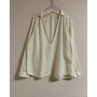 FRAMeWORK - フレームワーク アイボリーコットンシャツ