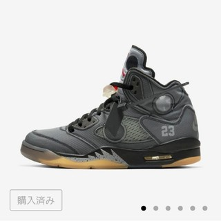NIKE - nike off white air jordan 5