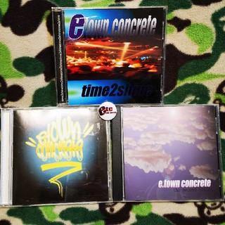 E-TWON CONCRETE CD3枚セット!ラップハードコア(ポップス/ロック(洋楽))