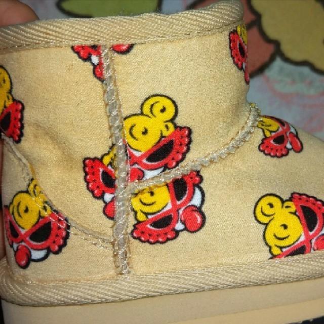 HYSTERIC MINI(ヒステリックミニ)のヒスミニ♥ムートンブーツ13cm キッズ/ベビー/マタニティのベビー靴/シューズ(~14cm)(ブーツ)の商品写真