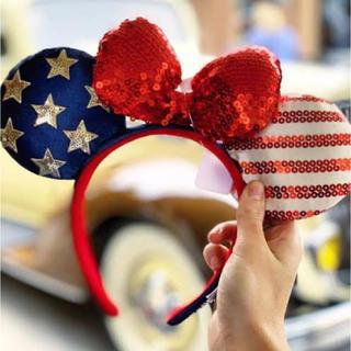 Disney - アメリカ国旗 フロリダディズニーランド カチューシャ