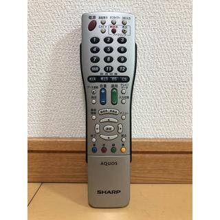 SHARP - SHARP AQUOS  テレビリモコン GA716WJSA 中古
