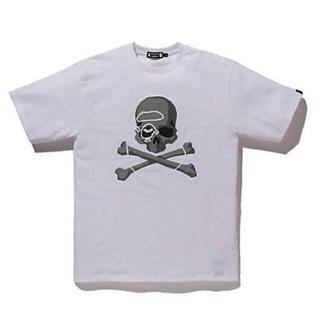マスターマインドジャパン(mastermind JAPAN)の【新品】Mサイズ mastermind VS A BATHING APE(R)(Tシャツ/カットソー(半袖/袖なし))