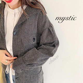 mystic - 僅か⚠️新品🌷¥10450【mystic】サファリワンピース コートワンピース