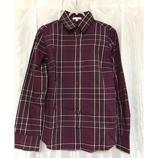 ナラカミーチェ(NARACAMICIE)のナラカミーチェ  ストレッチシャツ サイズⅡ(シャツ/ブラウス(長袖/七分))