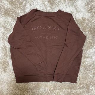 moussy - MOUSSY トレーナー