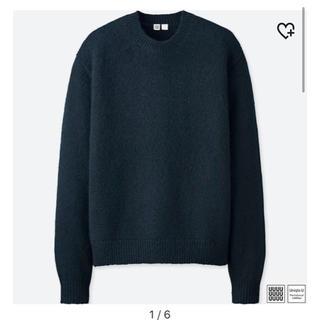 UNIQLO - UNIQLO ニット メランジクルーネックセーター