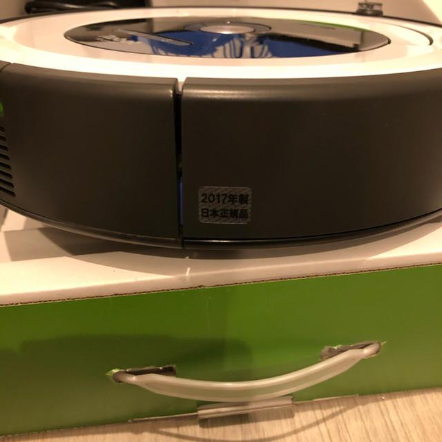iRobot(アイロボット)のルンバ680新品バッテリー スマホ/家電/カメラの生活家電(掃除機)の商品写真