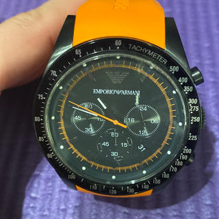 エンポリオアルマーニ(Emporio Armani)の送料無料!美品!アルマーニ!メンズ!腕時計!(腕時計(アナログ))