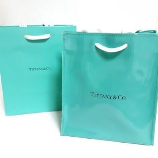 Tiffany & Co. - ティファニー ビニールバッグ ショップ袋 セット