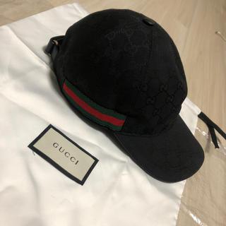 Gucci - GUCCI グッチ GGキャンパス キャップ Sサイズ