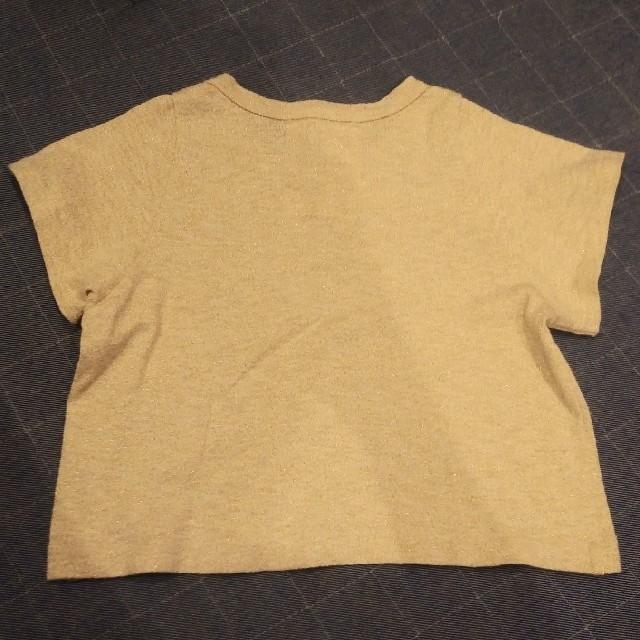 GO TO HOLLYWOOD(ゴートゥーハリウッド)のフィス ラメトップス キッズ/ベビー/マタニティのキッズ服女の子用(90cm~)(Tシャツ/カットソー)の商品写真