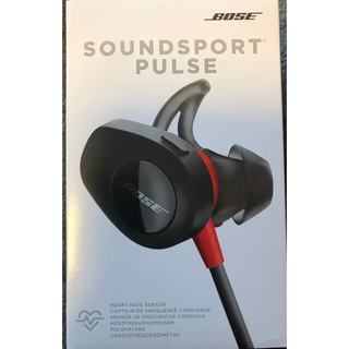 ボーズ(BOSE)の新品未使用 BOSE SoundSport Pulse ワイヤレスイヤホン(ヘッドフォン/イヤフォン)