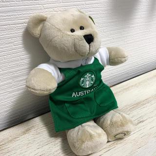 Starbucks Coffee - 【オーストラリア限定】スターバックス ベアリスタ グリーンエプロン