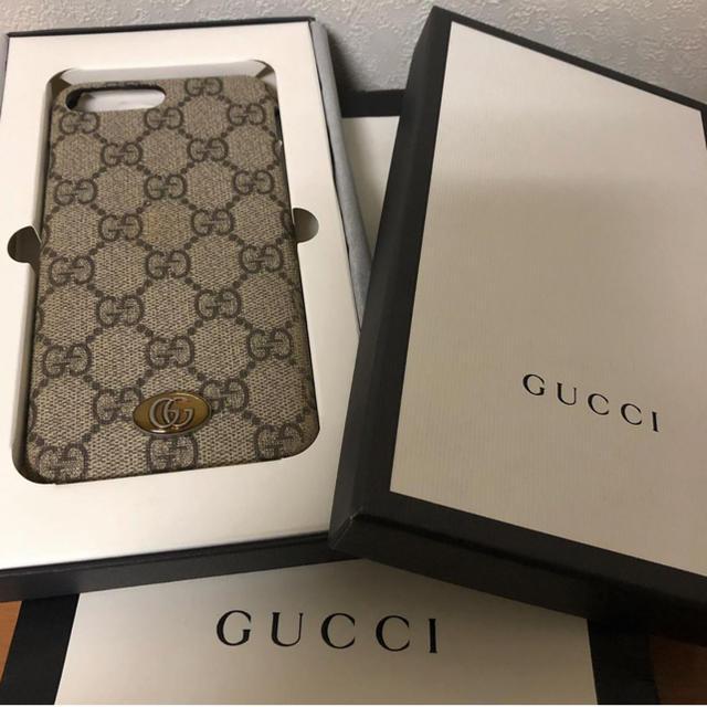 Gucci - 【最終お値下げ】GUCCI iPhoneケースの通販