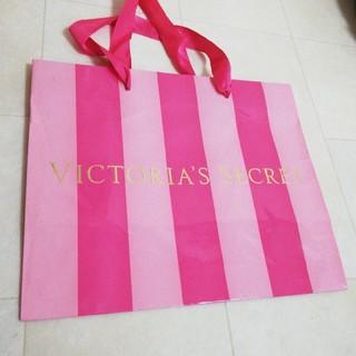 ヴィクトリアズシークレット(Victoria's Secret)の【かわいい♪】ヴィクトリアシークレット ショップ袋 ショップバッグ ショッパー(ショップ袋)