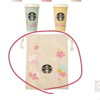 スターバックスコーヒー(Starbucks Coffee)のスタバ さくら 巾着(ポーチ)