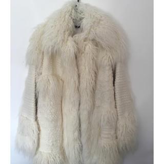 ステラマッカートニー(Stella McCartney)のステラマッカートニー コート サイズ38(毛皮/ファーコート)
