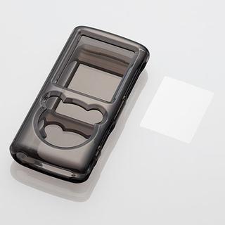エレコム(ELECOM)のSONYウォークマン NW-E050シリーズ用ハードケース ブラック(ポータブルプレーヤー)
