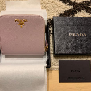 PRADA - 未使用☆PRADA 二つ折り財布