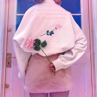 バブルス(Bubbles)の【最終値下げ】バラ トレーナー(トレーナー/スウェット)
