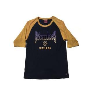 ハイドアンドシーク(HIDE AND SEEK)のHIDE AND SEEK ラグランスリーブTシャツ(Tシャツ/カットソー(七分/長袖))