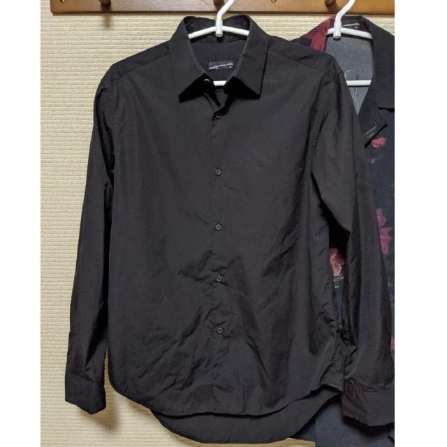 LAD MUSICIAN(ラッドミュージシャン)のLAD MUSICIAN STANDARD SHIRT ブラック 44 メンズのトップス(シャツ)の商品写真