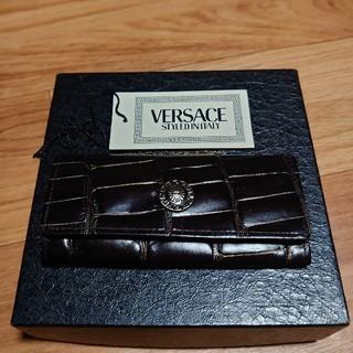 ジャンニヴェルサーチ(Gianni Versace)のジャンニ・ヴェルサーチ クロコキーケス新品未使用!(その他)