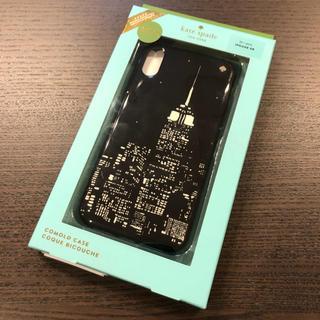 kate spade new york - 【新品・未使用】ケイトスペード iPhoneXR グロー シティ ブラック
