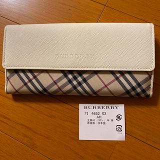 BURBERRY - Burberry長財布
