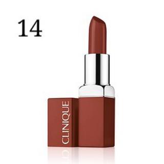 クリニーク(CLINIQUE)の新品 ♥︎ クリニーク イーブンベターポップ 14 ネスルド(口紅)