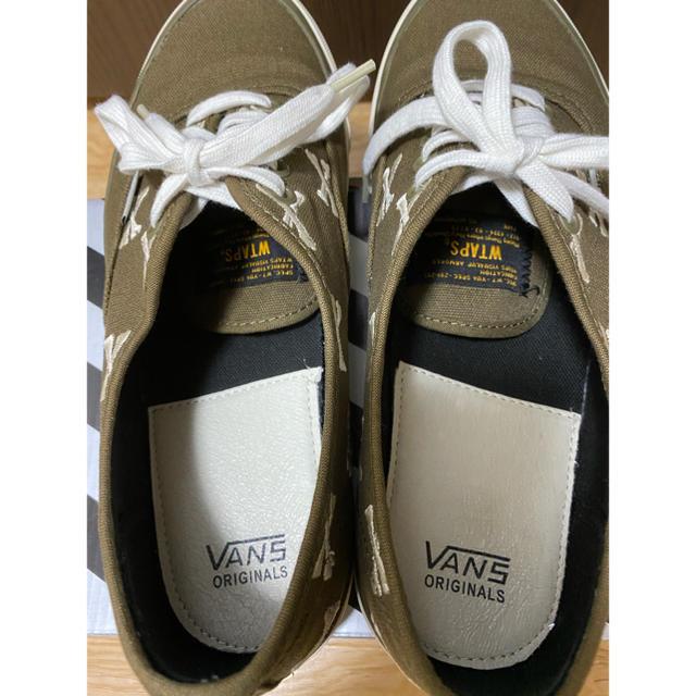 W)taps(ダブルタップス)のWTAPS VANS Authentic LX スニーカー ダブルタップス 27 メンズの靴/シューズ(スニーカー)の商品写真