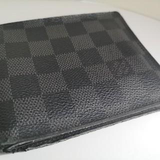 LOUIS VUITTON - 質屋出品 m LOUIS VUITTON ルイヴィトン 財布 ダミエグラフィット