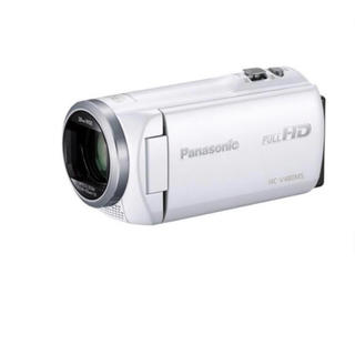 パナソニック(Panasonic)のPanasonic HC-V480MS-W(ビデオカメラ)
