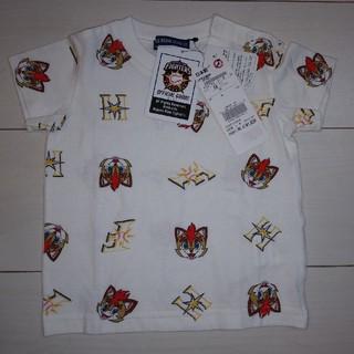 ホッカイドウニホンハムファイターズ(北海道日本ハムファイターズ)の日本ハム ファイターズ キッズ Tシャツ 80cm 新品(応援グッズ)