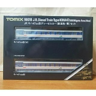 タカラトミー(Takara Tomy)の新品 TOMIX 98018 JR キハ47-500形 新潟色 青 2両セット(鉄道模型)