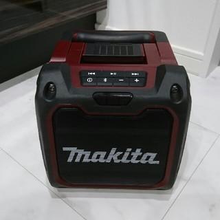 マキタ(Makita)のマキタ スピーカー MR200 オーセンティックレッド(スピーカー)