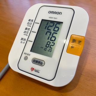 オムロン(OMRON)のOMRON オムロン デジタル自動血圧計 HEM-7041 中古(その他)