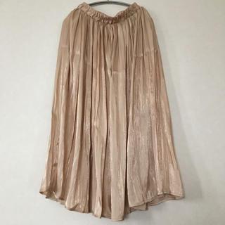 しまむら - ギャザーロングスカート  シャイニースカート
