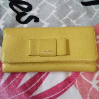 miumiu - miu miu 長財布 レモン色