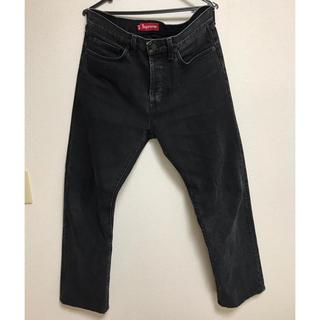 Supreme - 【Supreme】 stone washed black slim jean