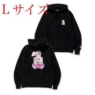 XLARGE - XLARGE × FR2 QP Rabbits Hoodie