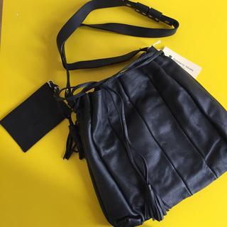 SCOT CLUB - 新品◆スコットクラブ 系列◆2wayショルダーバッグ イタリア製 黒