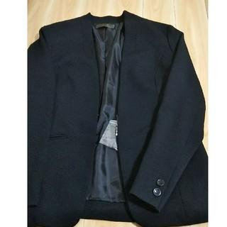 フェリシモ(FELISSIMO)のポポロンさん専用 ジャケットとパンツセット(ノーカラージャケット)