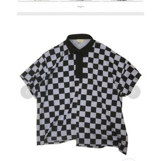 ジエダ(Jieda)のjieda CHECKERED RUGBY SHIRT(Tシャツ/カットソー(半袖/袖なし))