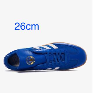 アディダス(adidas)のAdidas × Oyster Samba OG【ブルー】希少40%オフ(スニーカー)