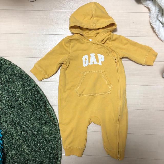 GAP(ギャップ)のgapロンパース キッズ/ベビー/マタニティのベビー服(~85cm)(ロンパース)の商品写真