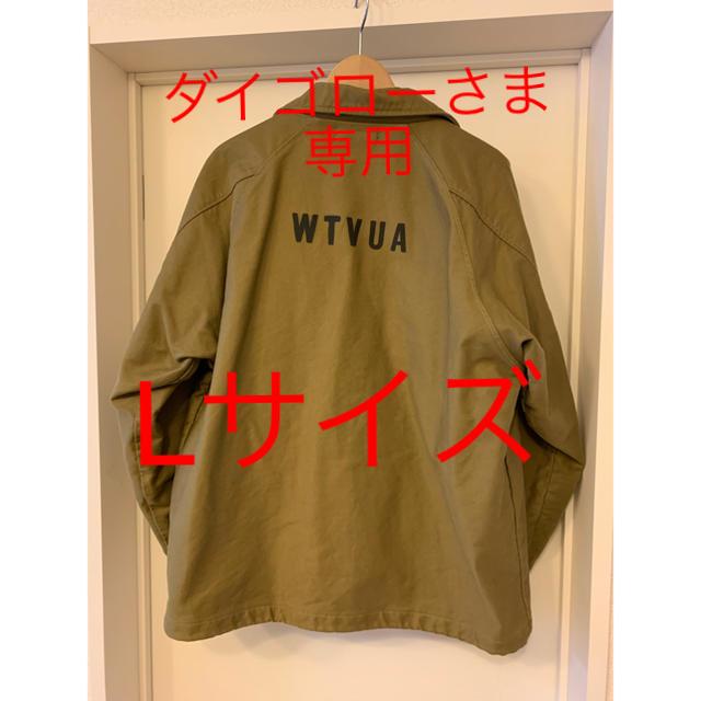 W)taps(ダブルタップス)のwtaps 17aw sqd jacket Lサイズ オリーブドラブ メンズのジャケット/アウター(ブルゾン)の商品写真