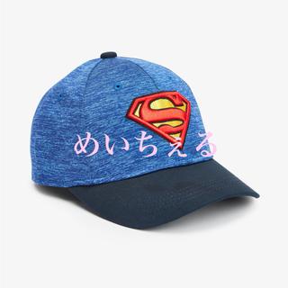 マーベル(MARVEL)の【新品】ブルー Superman キャップ(オールド)(帽子)